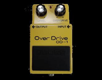 BOSS(ボス) OD-1 Overdrive(オーバードライブ) 銀ネジ 中古品 画像