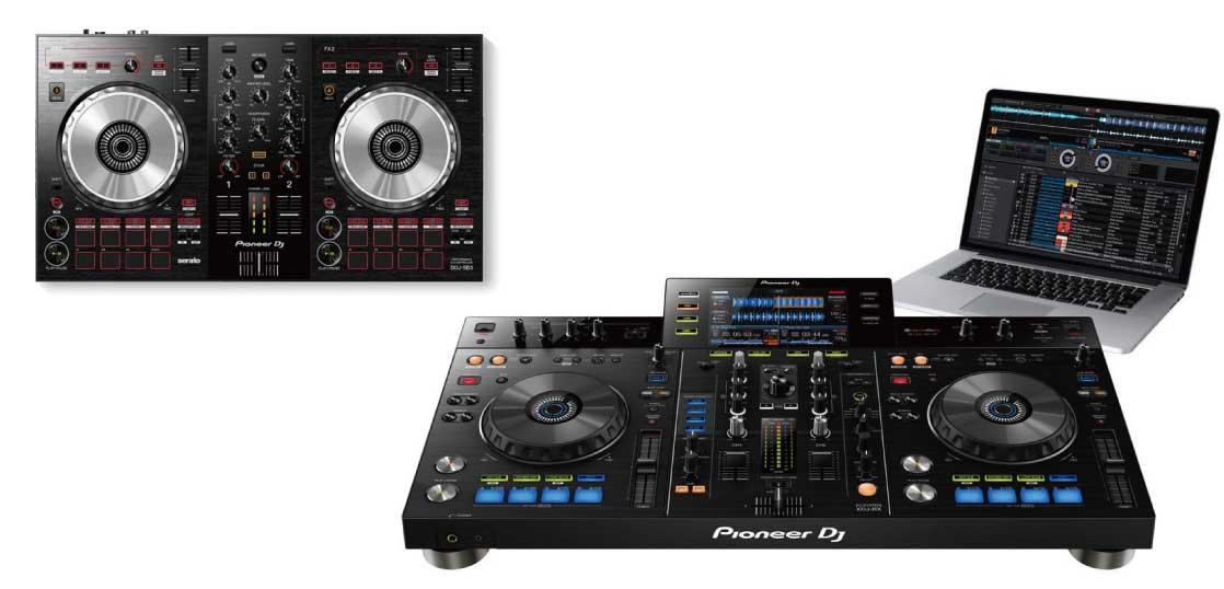 一体型DJシステム(オールインワン)とDJコントローラーの違いって? 画像