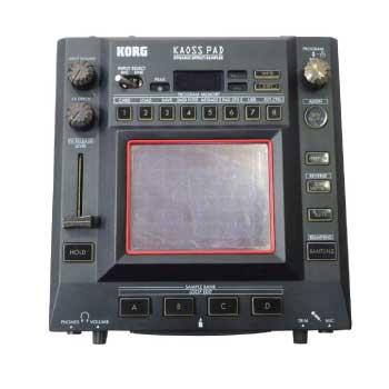 DJ用エフェクター サンプラー KAOSS PAD KP3 画像