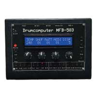 MFB-503 Drumcomputerアナログ ドラムマシン 説明書付 希少 中古品 画像