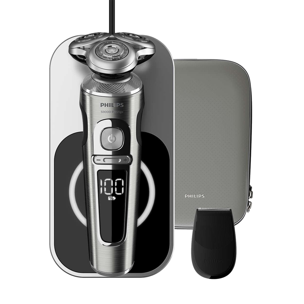 フィリップス ウェット&ドライ電気シェーバー S9000 プレステージ SP9861/13 新品 画像