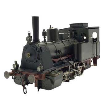 ライブスチーム 1番ゲージ プロイセン帝国鉄道KPEV T3 (K.P.E.V. T3) ドイツ帝国 連邦鉄道 BR89(DR Baureihe 89) 画像