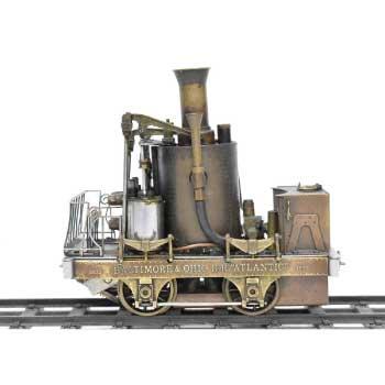 Aster Hobby アスターホビー 1番ゲージ BALTIMORE&OHIO Gゲージ R.R. ATLANTIC 蒸気機関車 画像