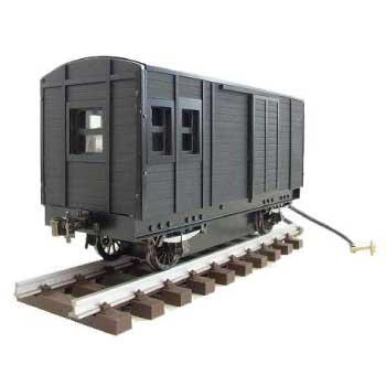アスターホビー ライブスチーム 1番ゲージ ミニSL 蒸気機関車 貨物車両 画像