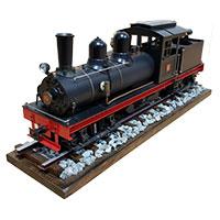 鉄道模型 アスターホビー Shay Class B ライブスチーム画像