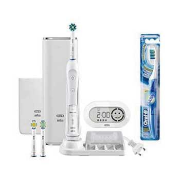 オーラルB 電動歯ブラシ プラチナホワイト 7000 D365356WHP画像