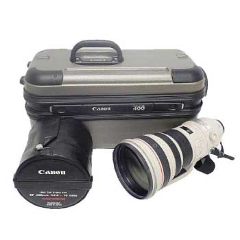 キャノン EF 400mm F2.8 L IS USM 大口径・望遠単焦点レンズ 純正ケース付き 画像