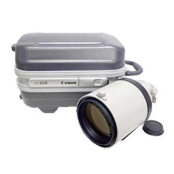 キャノン EF 300mm F2.8L IS II USM 望遠 単焦点レンズ D4X同梱 画像