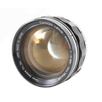 キヤノン ドリームレンズ Sレンズ 50-85mm CANON 50mm F0.95 画像