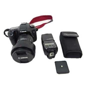 EOS 7D 一眼レフカメラ レンズ EF24-70mmf/2.8L Ⅱ USM スピードライト 画像