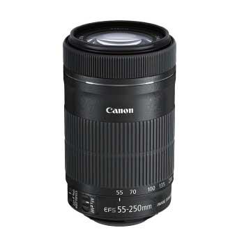 望遠ズームレンズ カメラ 一眼レフ EF S55 250mm F4-5.6 IS STM APS-C対応 EF-S55-250ISSTM 画像
