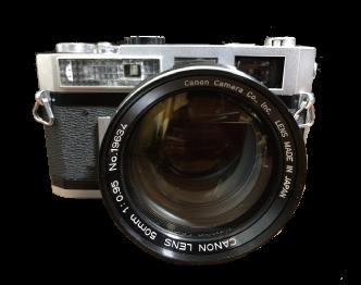 キャノン(Canon) フィルムカメラ 7 50mm f0.95 レンズ 中古品 画像
