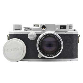 Canon キヤノン II D型 + CANON LENS 50mm F1.8 中古品 画像