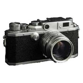 Canon キヤノン レンジファインダー II-D キヤノン50mmF1.8付 中古品 画像