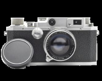 キヤノン II B型 (2B型) + SERENA 50mm F1.9 L39マウント フィルムカメラ レンジファインダー 中古品 画像