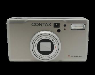 コンタックス デジタルカメラ CONTAX TVS DIGITAL 美品 画像
