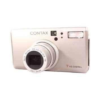 CONTAX TVS DIGITALバリオゾナー7.3-21.9mm F2.8-4.8 T デジカメ 画像