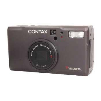 コンタックス デジタルカメラ CONTAX TVS DIGITAL チタンブラック 画像