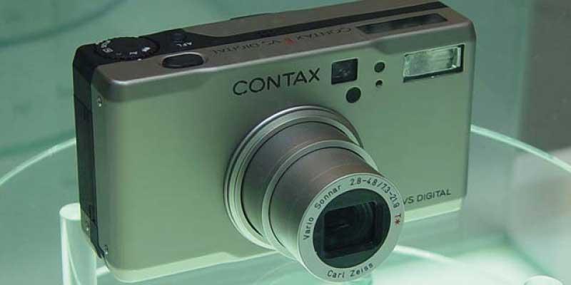 コンタックス(CONTAX)デジタルカメラとは 画像