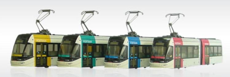 PRUSシリーズ(プラスチック製)/路面電車