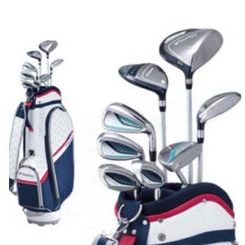 ブリヂストン ツアーステージ レディース ゴルフクラブセット 画像