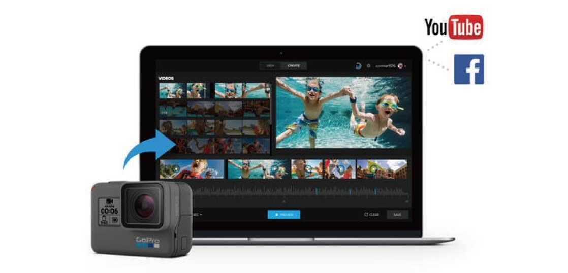 GoPro(ゴープロ)デスクトップ用Quikとは 画像
