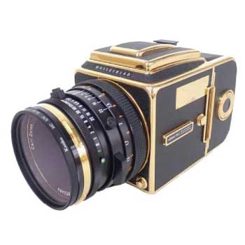 500C/M Gold 30周年記念 中判カメラ Carl Zeiss Planar 2.8/80 T画像