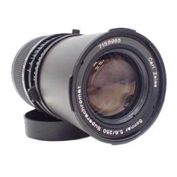 カールツァイス レンズ Sonnar 5.6/250 superachromat T画像