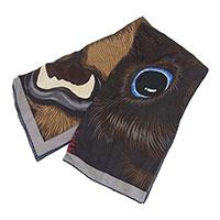 HERMES エルメス カレH 100 Grrrrr! シルクスカーフ画像