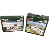 鉄道模型 KATO 高架駅セット23-125 複線高架線路セット 20-840 その他画像