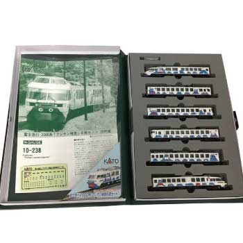 KATO Nゲージ 10-238 富士急行2000系 フジサン特急 6両セット 画像