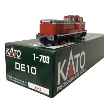 KATO HOゲージ DE10 1-703 鉄道模型 ディーゼル機関車 画像