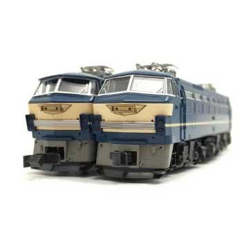 KATO Nゲージ 電気機関車 ブルートレイン牽引機 EF66 前期形 後期形 画像