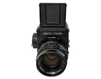 コーワ KOWA SIX 中判フィルム一眼レフカメラ画像