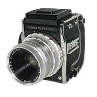 コーワ Super 66 中判フィルム一眼レフカメラ画像