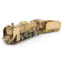 鉄道模型 KTM HOゲージ D51型 蒸気機関車 組立てキット画像