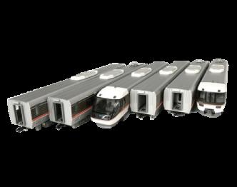 KTM HOゲージ 鉄道模型 JR東海 383系 ワイドビュー しなの 6両編成セット 美品 画像