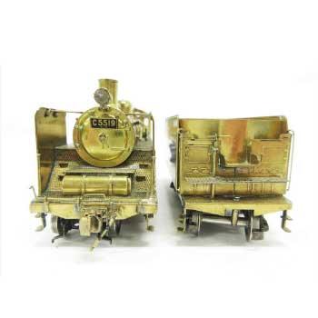 HOゲージ C55形 真鍮製 蒸気機関車 画像