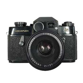 LEICAFLEX I型 ボディ ブラック レンズ SUMMICRON-R F2 50mm 画像