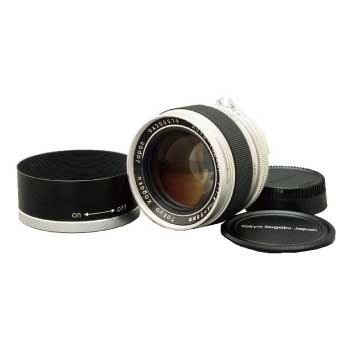 コシナ 東京光学 オート トプコール 58mm F1.4 Nikon AI-S 大口径 標準レンズ 画像