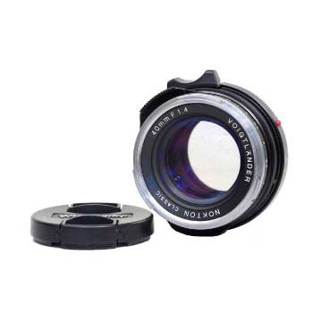 コシナ Voigtlnder NOKTON classic SC 40mm F1.4 単焦点レンズ VMマウント フォクトレンダー 画像