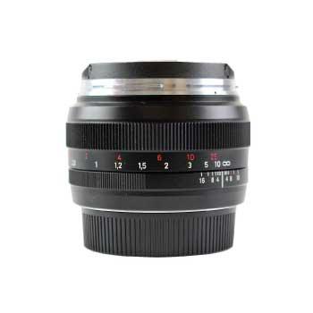 COSINA MF 単焦点レンズ Canon EFマウント用 ZEISS Planar T* 1,4/50 画像