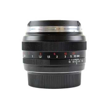 COSINA Canon EFマウント用 ZEISS Planar T* 1,4/50 単焦点 カールツァイス プラナー ZEISS Classic 画像