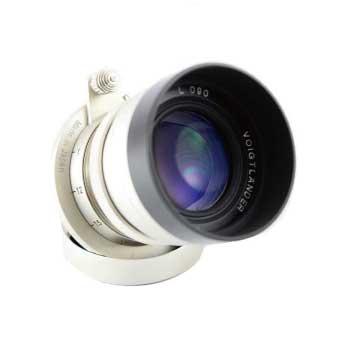 コシナ Voigtlander フォクトレンダー HELIAR 50mm F2 L 090 レンズ 説明書 ケース付き 画像