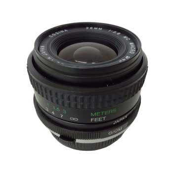 COSINA 25mm F2.8 MC MACRO ペンタックス Kマウント レンズ 画像