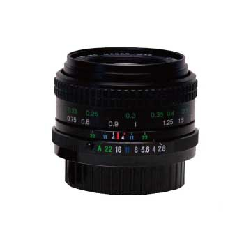 COSINA PENTAX Kマウント専用 28mm単焦点レンズ 1:2.8 MACRO 画像