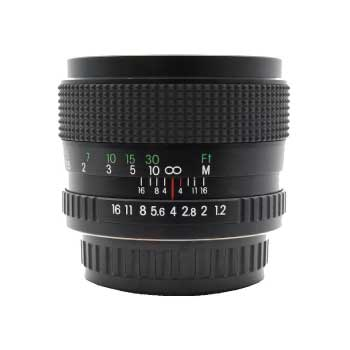 コシナ 55mm F1.2 MC 大口径単焦点レンズ ペンタックス Kマウント MFレンズ 画像