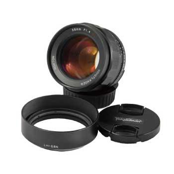 Cosina Voigtlander フォクトレンダー NOKTON 58mm f/1.4 SL II N ニコン用標準単焦点レンズ フード付き 画像