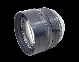 フジノン 5cm F1.2 超大口径レンズ ライカ Lマウント レザーケース付 中古品 画像