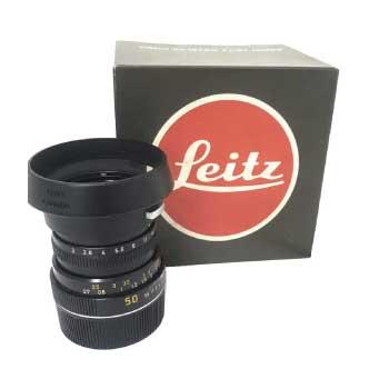 Leitz レンズ SUMMICRON-M 1:2/50 ドイツ製 LEITZ E39 UVa 画像